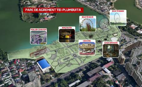 Cum va arata parcul de distractii din sectorul 2, lansat in 2015. Proiectul costa 64 mil. lei