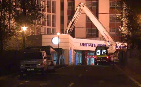 Un batran de 92 de ani a murit dupa ce a cazut de la etajul X al Spitalului Universitar din Capitala