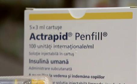 Diabeticii din Romania vor ramane fara insulina Actrapid din aprilie 2014. Cu ce va fi inlocuita