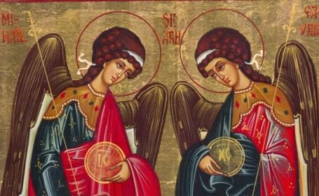Sfintii MIHAIL si GAVRIIL, conducatorii cetelor de ingeri, sarbatoriti vineri de ortodocsi