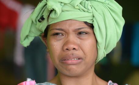 Imaginile DEZASTRULUI in Filipine. Locuitorii loviti de taifun jefuiesc mortii pentru a supravietui