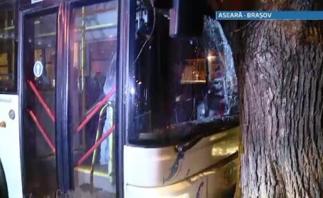 accident autobuz Brasov