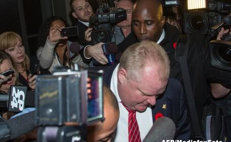 Primarul din Toronto, Rob Ford, recunoaste ca a cumparat droguri in ultimii doi ani