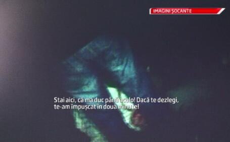 Umilinta la care a fost supus un liceean rapit si tarat pe un camp din Oradea. \