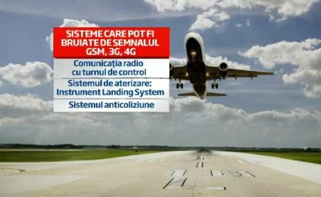 Ce se intampla de fapt daca folosesti telefonul la decolare si la aterizare. Regula se schimba in UE