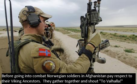 Armata norvegiana va avea o dieta care va include si un regim vegetarian