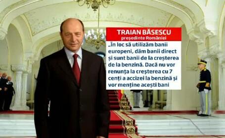 Carton Traian Basescu