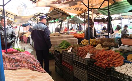 control piata, Timisoara