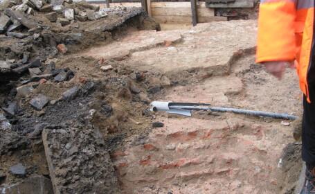 descoperire arheologica, Piata Sf Gheorghe