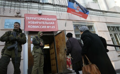 Ucraina denunta o mobilizare \
