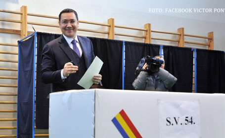 ponta la vot primul tur al alegerilor prezidentiale 2014