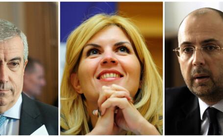 Calin Popescu Tariceanu, Elena Udrea, Kelemen Hunor