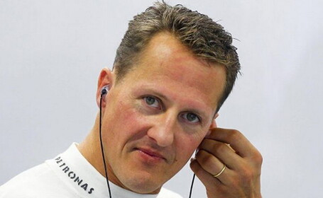 Prima fotografie cu Michael Schumacher in pat, dupa accidentul de acum 3 ani, scoasa la vanzare pentru 1,2 milioane de euro