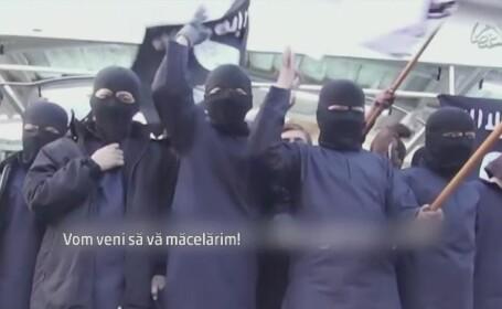 Reportaj CNN. Imaginile care arata cum isi indoctrineaza Statul Islamic copiii: \