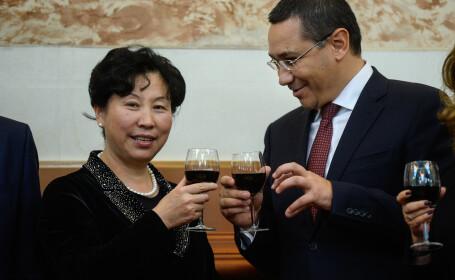 Victor Ponta, vizita China