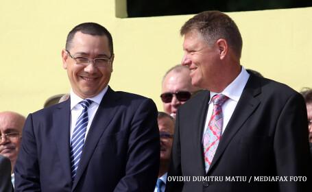 Victor Ponta, dupa o discutie despre justitie cu Iohannis: Sa fie trei puteri in stat si sa se respecte!