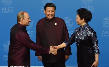 Foreign Policy: Vladimir Putin a flirtat cu sotia presedintelui Chinei. Imediat, cenzura a explodat in China. FOTO si VIDEO