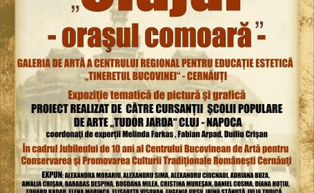 """Expozitia """"Clujul – Orasul Comoara"""" ajunge in Ucraina la Cernauti"""