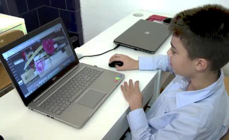 copil programator din Sibiu Petru Rogojanu