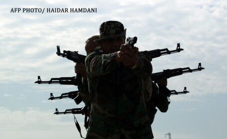rebeli kurzi care lupta impotriva statului islamic