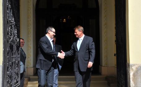 Klaus Iohannis si Victor Ponta
