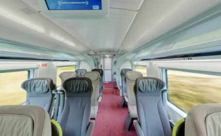 VIDEO Cum arata noile trenuri Eurostar care ating 320 km/h