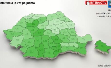 harta prezenta