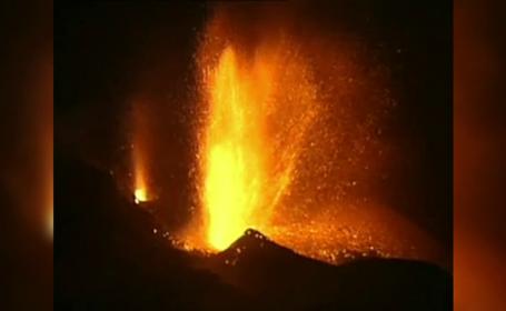 Eruptie vulcanica violenta, in insulele Capului Verde. Sute de localnici au fost evacuati, iar aeroportul a fost inchis