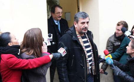 Mircea Basescu a ajuns la locuinta sa din Constanta dupa ce a iesit din arestul Politiei Capitalei