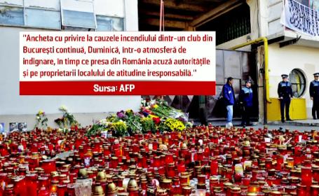 Reactiile presei straine si ale liderilor din UE, dupa tragedia de la Bucuresti. Presedintele ungar s-a declarat \
