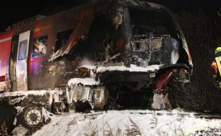 accident tren, germania