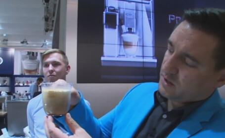 espressor smart de cafea, George Buhnici