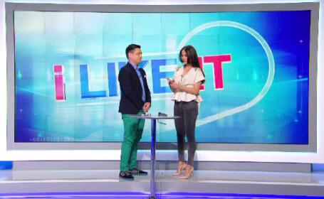 George Buhnici si Nicolle Stanese la iLikeIT, imagine din emisiune