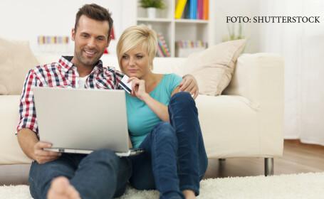 cumparaturi online, cuplu