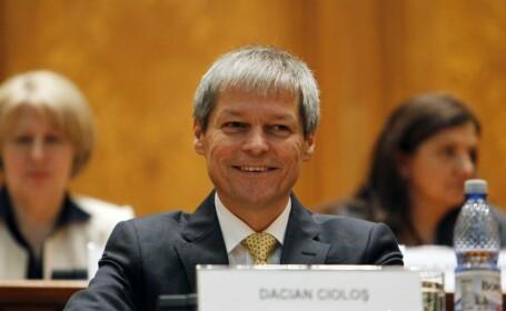 Dacian Ciolos a discutat telefonic cu presedintele Repulicii Moldova, Nicolae Timofti