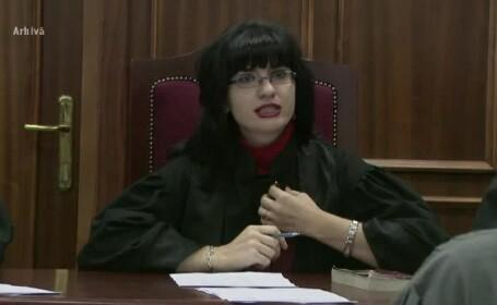 Interceptari: Judecatoarea Terceanu se simtea amenintata si se gandea la un autodenunt: \