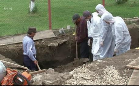 Descoperire macabra in Mures. Fragmente de oase, vechi de mai bine de 10 ani, gasite langa o fabrica