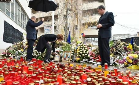 Familia Regala a adus un omagiu victimelor de la Colectiv. O icoana ce a apartinut Reginei Maria, depusa la locul tragediei