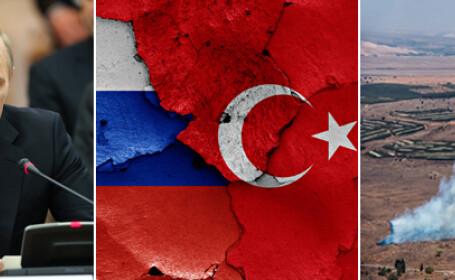 Kremlinul ia masuri dure impotriva Turciei, dupa doborarea avionului rusesc. Vladimir Putin este \