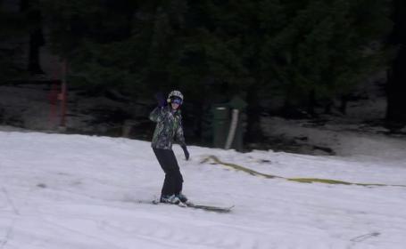 Romania petrece in statiunile montane. Locurile in care turistii au deschis sezonul la schi
