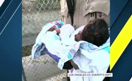Caz incredibil in California. Doua femei au gasit un bebelus ingropat de viu, intr-o crapatura din asfalt