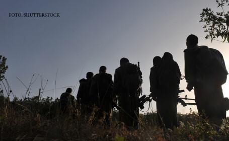 luptatori in Siria
