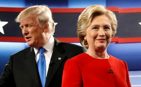 Clinton si Trump, umar la umar cu o saptamana inainte de alegeri. Atacurile se intensifica: \