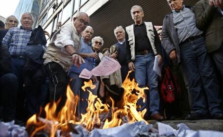 pensionari greci - Agerpres