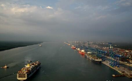 portul Klang din Malaezia