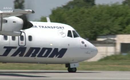 Un avion al companiei Tarom s-a intors de urgenta pe aeroportul Otopeni, dupa ce decolase. Ce s-a intamplat cu pilotul