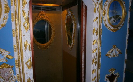 bloc decorat baroc in Kiev