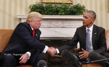 Intalnire Obama - Trump la Casa Alba. \