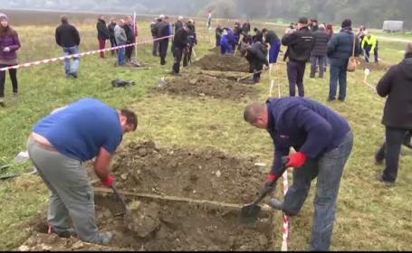 Concurs de sapat morminte la Targul de Servicii Funerare din Slovacia. \