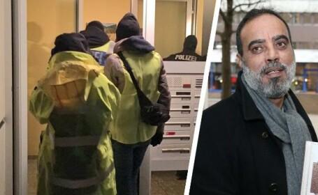 Politia germana a lansat raiduri simultane in zece landuri impotriva unor presupusi sustinatori ai Statului Islamic